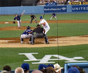 Dodger Game at Dodge Stadium in Elysian Park near downtown Los Angeles. [Photo Credit: LAtourist.com]