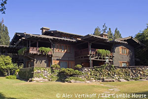 The Gamble House Exterior. [Photo Credit: Alex Vertikoff / The Gamble House]