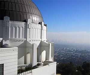 Griffith Park Observatory in Los Angeles. [Photo Credit: LAtourist.com]