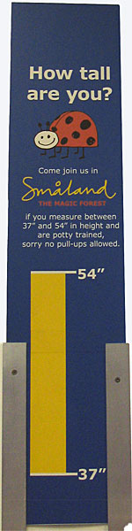 Smaland Entry Rules at IKEA Burbank. [Photo Credit: LAtourist.com]