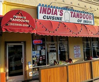 India's Tandoori Restaurant on Wilshire Blvd. [Photo Credit: LAtourist.com]