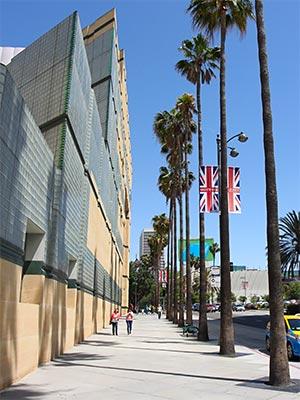 LA County Museum of Art on Wilshire Boulevard. [Photo Credit: LAtourist.com]