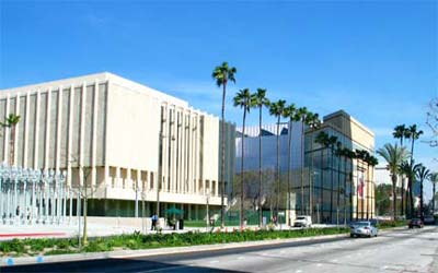 Los Angeles County Museum of Art (LACMA) at Museum Row on Miracle Mile, Los Angeles. [Photo Credit: LAtourist.com]