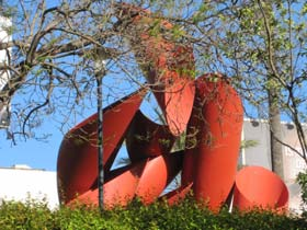 Phoenix installation on Wilshire Boulevard at LACMA. [Photo Credit: LAtourist.com]
