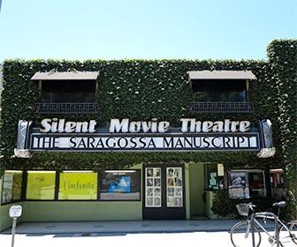 Silent Movie Theatre on Fairfax Avenue in Los Angeles. [Photo Credit: LAtourist.com]