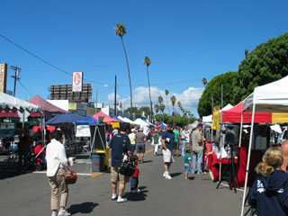 Mar Vista Farmers' Market. [Photo Credit: LAtourist.com]