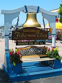 Fisherman's Wharf in Marina del Rey. [Photo Credit: LAtourist.com]