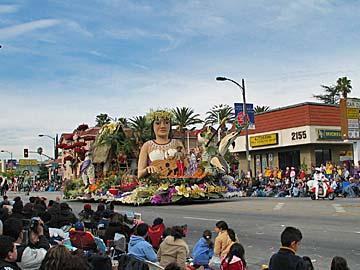 Tournament of Roses Parade in Pasadena. [Photo Credit: LAtourist.com]