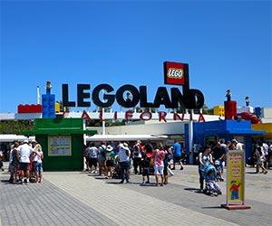 Entrance to LEGOLAND, California. [Photo Credit: LAtourist.com]