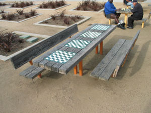 Chess Park near the Santa Monica Pier. [Photo Credit: LAtourist.com]