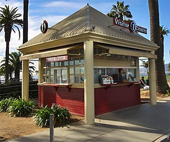 Info Center at Palisades Park in Santa Monica. [Photo Credit: LAtourist.com]