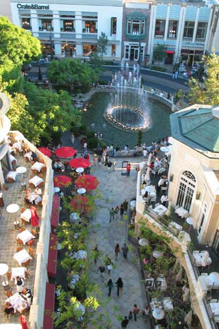 The Grove Shopping District in Los Angeles. [Photo Credit: LAtourist.com]