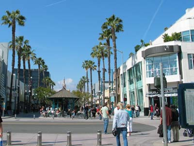Third Street Promenade in Santa Monica. [Photo Credit: LAtourist.com]