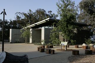 Meeting Facility at TreePeople on Mulholland Drive. [Photo Credit: LAtourist.com]