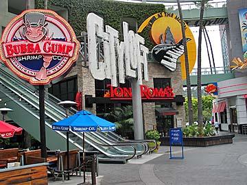 CityWalk Hollywood at Universal Studios, Hollywood. [Photo Credit: LAtourist.com]
