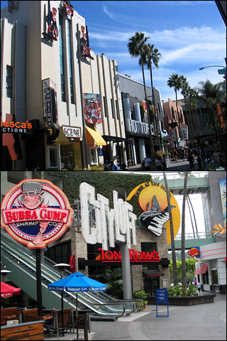 CityWalk Hollywood near Universal Studios. [Photo Credit: LAtourist.com]